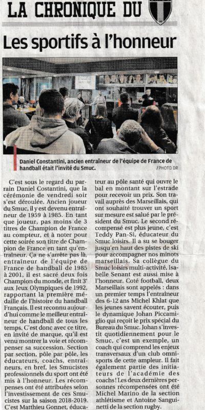 La Provence - 28-01-20 - Académie des Coachs 2nde édition